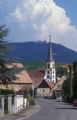 Alsace Town and Haut Koenigsburg
